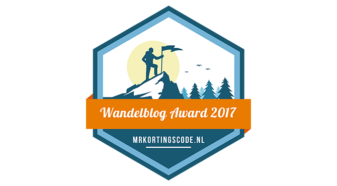 Banners for Wandelblog Award 2017