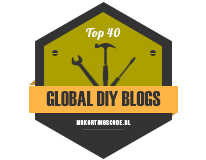 Banners for Top 40 Global DIY Blogs